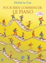 Le Coz Michel - Pour Bien Commencer Le Piano