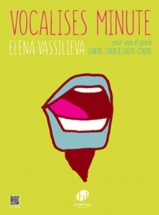 Vassilieva Elena - Vocalises Minute - Contre-tenor Ou Haute-contre and Piano