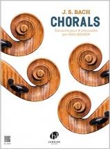 Bach J.s. - Chorals - 4 Violoncelles (o. Bourin)