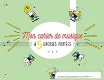 Cahier De Musique Pour Enfants 5 Grosses Portees