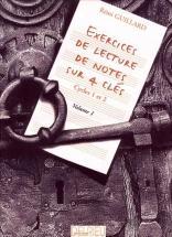 Guillard Rémi - Exercices De Lecture De Notes Sur 4 Clés