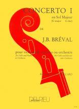 Breval Jean-baptiste - Concerto N°1 En Sol Maj. - Violoncelle, Piano