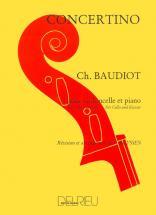 Baudiot Charles-nicolas - Concertino - Violoncelle, Piano