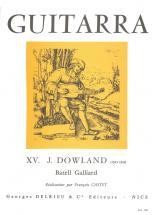 Dowland John - Batell Galliard - Guitare