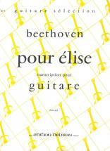 Beethoven L.van - Lettre A Elise - Guitare