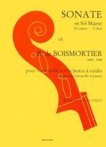 Boismortier Joseph-bodin (de) - Sonate En Sol Maj. - Violoncelle, Piano