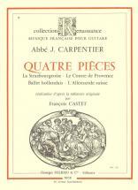 Carpentier - Pieces (4) - Guitare