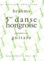 Brahms J. - Danse Hongroise N°5 - Guitare