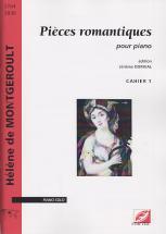 Montgeroult H. (de) - Pieces Romantiques Pour Piano - Cahier 1