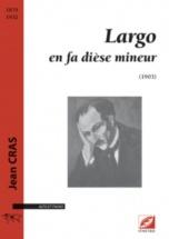 Cras Jean - Largo - Violoncelle and Piano