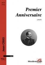 Cras Jean - Premier Anniversaire - Piano