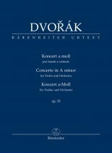 Dvorak A. - Concerto In A Minor Op.53 - Score
