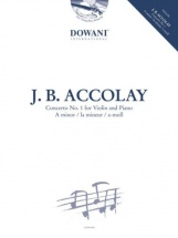 Accolay J-b - Concerto N°1 - Violon and Piano + Cd