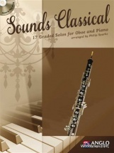 Sounds Classical - 17 Graded Solos For Oboe And Piano