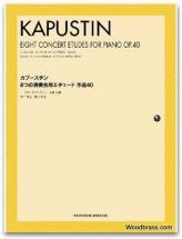 8 Concert Etudes Opus 40 - Piano