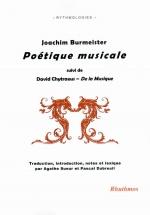 J. Burmeister - Poetique Musicale, Suivi De David Chytraeus, De La Musique