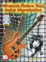 Finn Jon - Advanced Modern Rock Guitar Improvisation + Cd + Dvd - Guitar