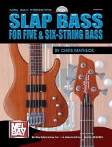 Matheos Chris - Slap Bass For Five And Six-string Bass + Cd - Electric Bass