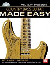 Mccabe Larry - Country Bass Guitar Made Easy + Cd - Electric Bass