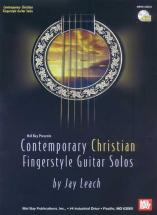 Leach Jay - Contemporary Christian Fingerstyle Guitar Solos + Cd - Guitar