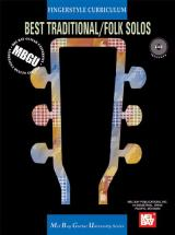 Gangel William - Fingerstyle Curriculum: Best Traditional/folk Solos + Cd - Guitar