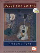 Hand Frederic - Solos For Guitar + Cd - Guitar