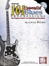 Mccabe Larry - 101 Essential Blues Progressions + Cd - Guitar