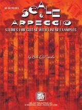 Dinardo Bob - Scale And Arpeggio Studies For Guitar With Linear Examples - Guitar