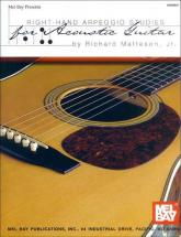 Matteson, Jr. Richard - Right-hand Arpeggio Studies For Acoustic Guitar - Guitar
