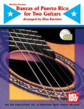 Barreiro Elias - Danzas Of Puerto Rico For Two Guitars + Cd - Guitar