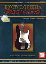 Byrne Todd - The Encyclopedia Of Bass Riffs + Cd - Electric Bass