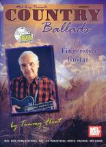 Flint Tommy - Country Ballads For Fingerstyle Guitar + Cd - Guitar