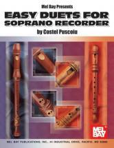 Puscoiu Costel - Easy Duets For Soprano Recorder - Recorder