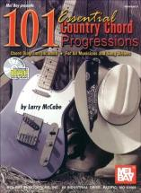 Mccabe Larry - 101 Essential Country Chord Progressions + Cd - Guitar