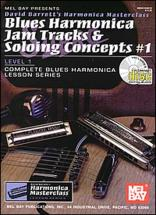 Barrett David - Blues Harmonica Jam Tracks And Soloing Concepts Vol.1 + Cd - Harmonica