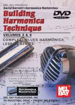 Barrett David - Building Harmonica Technique Volume 3 And 4 - Harmonica