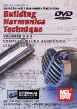 Barrett David - Building Harmonica Technique Volume 3 And 4 - Harmonica