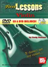 Duncan Craig - First Lessons Violin + Cd + Dvd