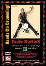 Mattioli Paulo - Hands On Drumming Session 1 - Percussion - DVD