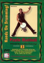 Mattioli Paulo - Hands On Drumming Session 3 - Percussion - DVD