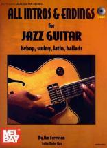 Ferguson Jim - All Intros And Endings For Jazz Guitar + Cd - Guitar