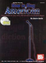 Lucia Joyce - How To Sing American + Cd - Vocal