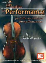 Morganstern Daniel - Practice For Performance - Cello
