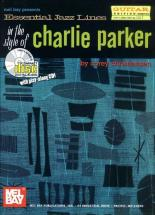 Christiansen C. - Essential Jazz Lines In The Style Of Charlie Parker, Guitar Edition + Cd - Guitar