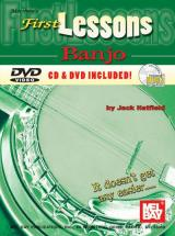 Hatfield Jack - First Lessons Banjo + Cd + Dvd - Banjo