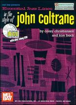Christiansen C. - Essential Jazz Lines In The Style Of John Coltrane + Cd - Saxophone