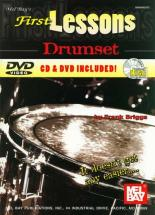 Briggs Frank - First Lessons Drumset + Cd + Dvd - Drum Set