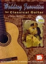 De Chiaro John - Wedding Favorites For Classical Guitar + Cd - Guitar