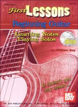 Bay William - First Lessons Beginning Guitar + Cd - Guitar