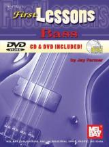 Farmer Jay - First Lessons Bass + Cd + Dvd - Electric Bass